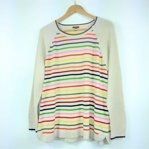 Talbots Woman Multi Stripped Sweater Size 2X